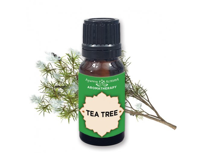 Altevita 100% esenciálny olej TEA TREE (čajovník) - Olej bez hraníc 10ml