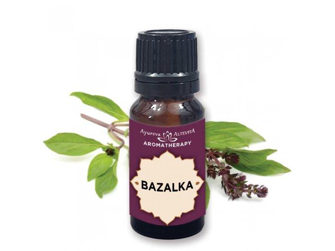 Altevita 100% esenciálny olej BAZALKA - Olej regenerácie 10ml