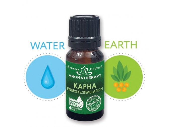 Altevita zmes esenciálnych olejov KAPHA Energia a stimulácia 10ml