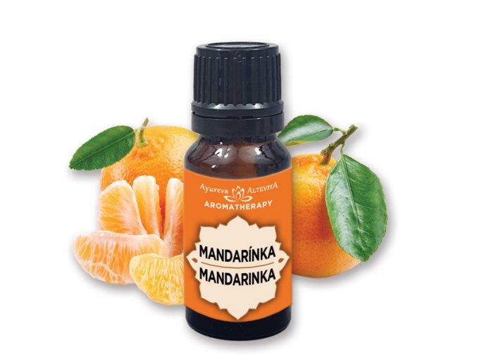 Altevita 100% esenciálny olej MANDARINKA - olej šťastných detí 10ml