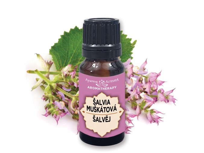 Altevita 100% esenciálny olej ŠALVIA 10ml olej ženskej múdrosti