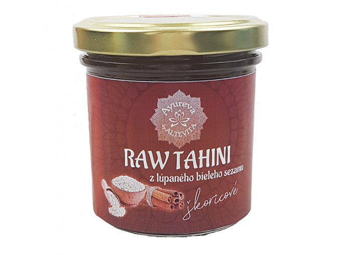 Altevita RAW Tahini škoricové 165ml