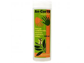 Kajeput AN-cor19 - dezinfekčný bezoplachový gél bez alkoholu 100ml
