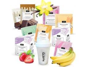 MyKETO proteínová keto diéta MAXI, výhodný diétny balíček (diéta na 1 mesiac) 126×40 g