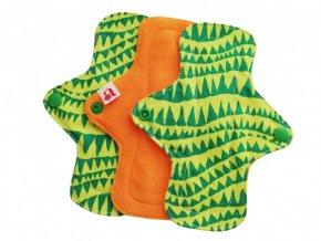 Voděodolné látkové intimky se spodní fleecovou vrstvou Alucha