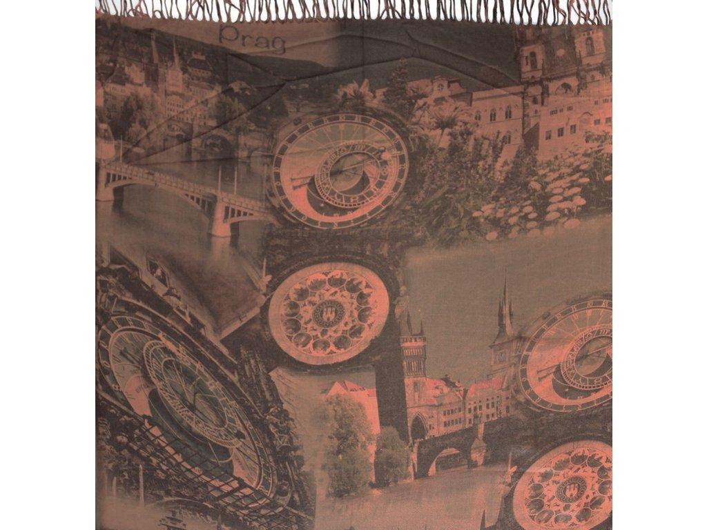 1426 pasminove saly s motivem praha cihlova