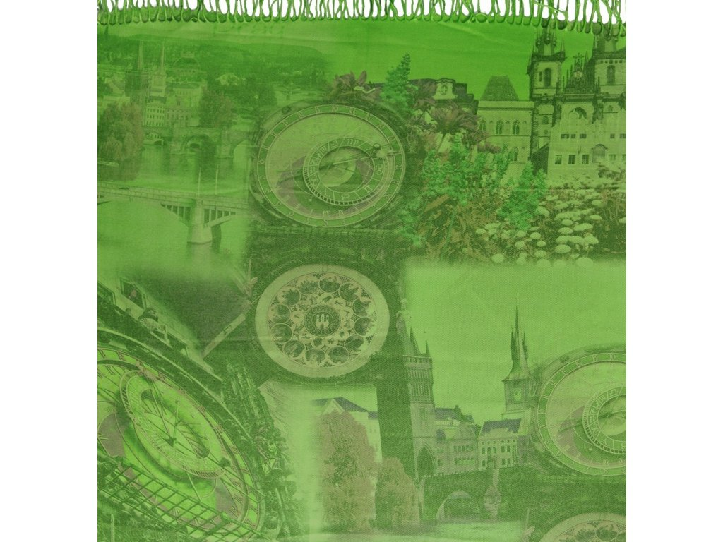 1441 pasminove saly s motivem praha fosfor zelena