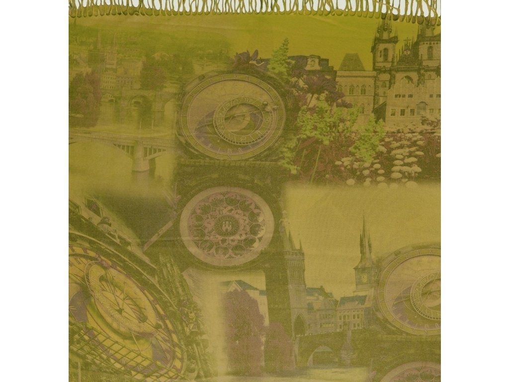 1492 pasminove saly s motivem praha zelena