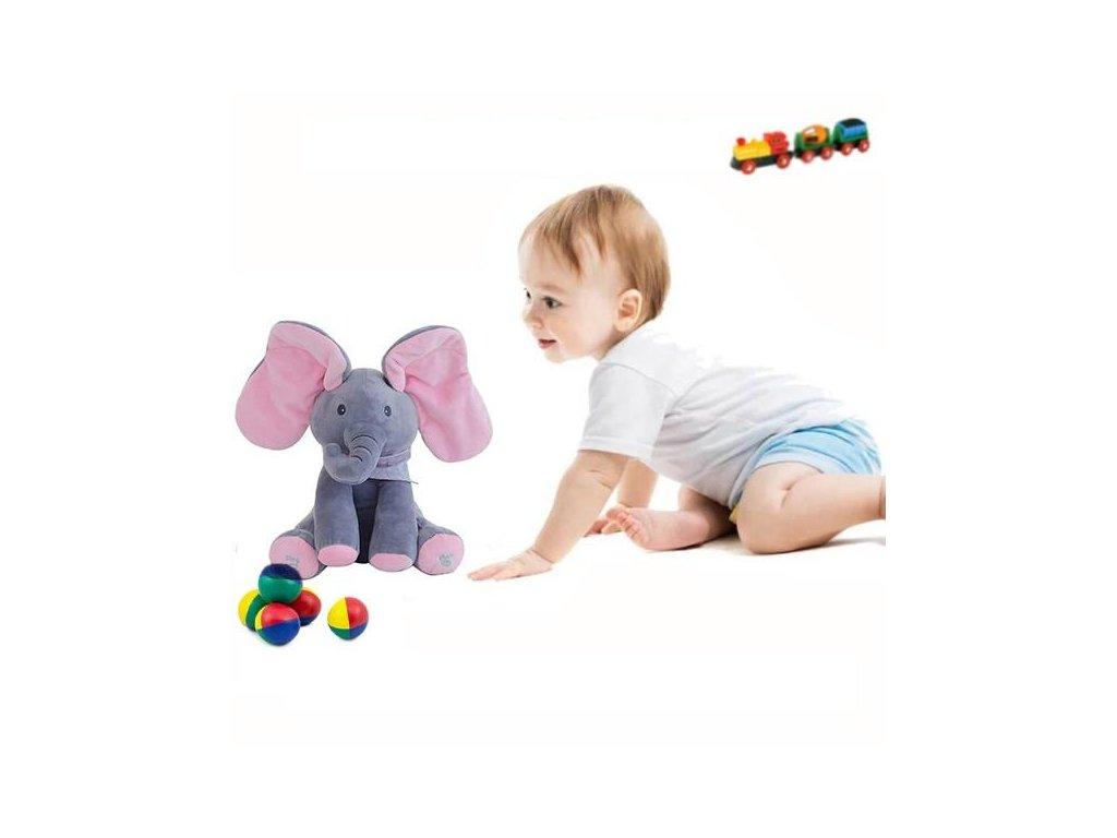 Pojoči slonček Flapy 10 1
