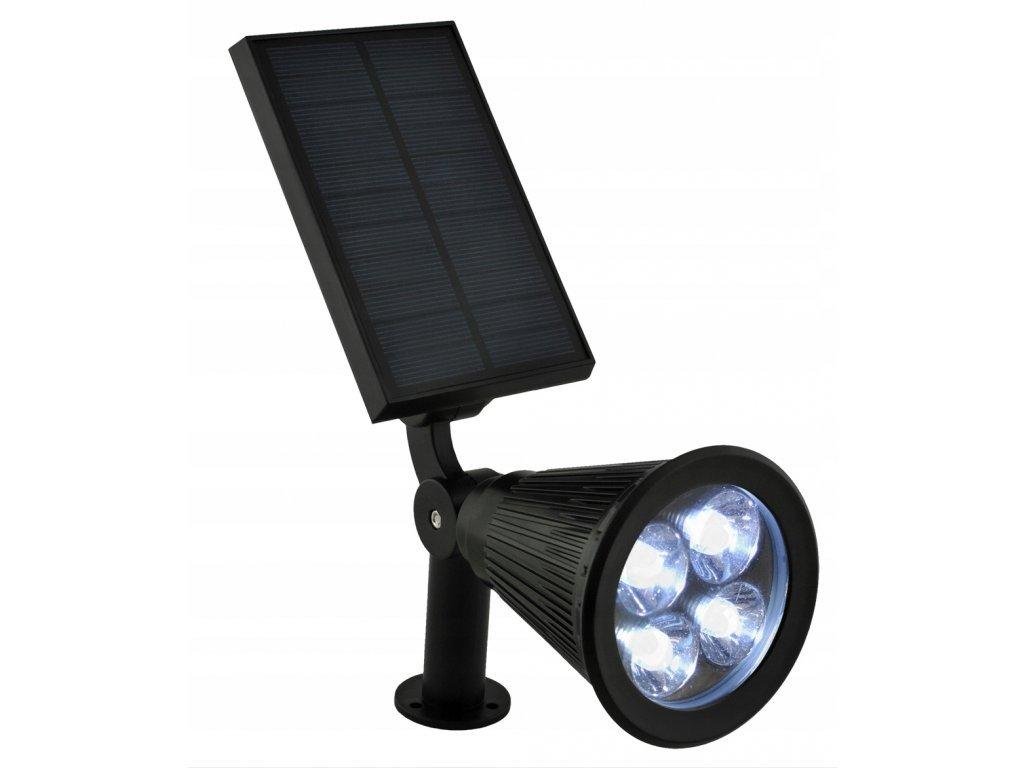 27728 2 zahradni solarni 4 led reflektor