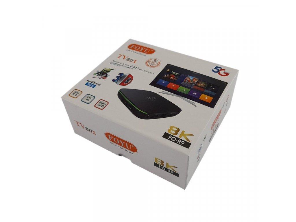Smart TV Box 8K s ovladačem FOYU FO-R9