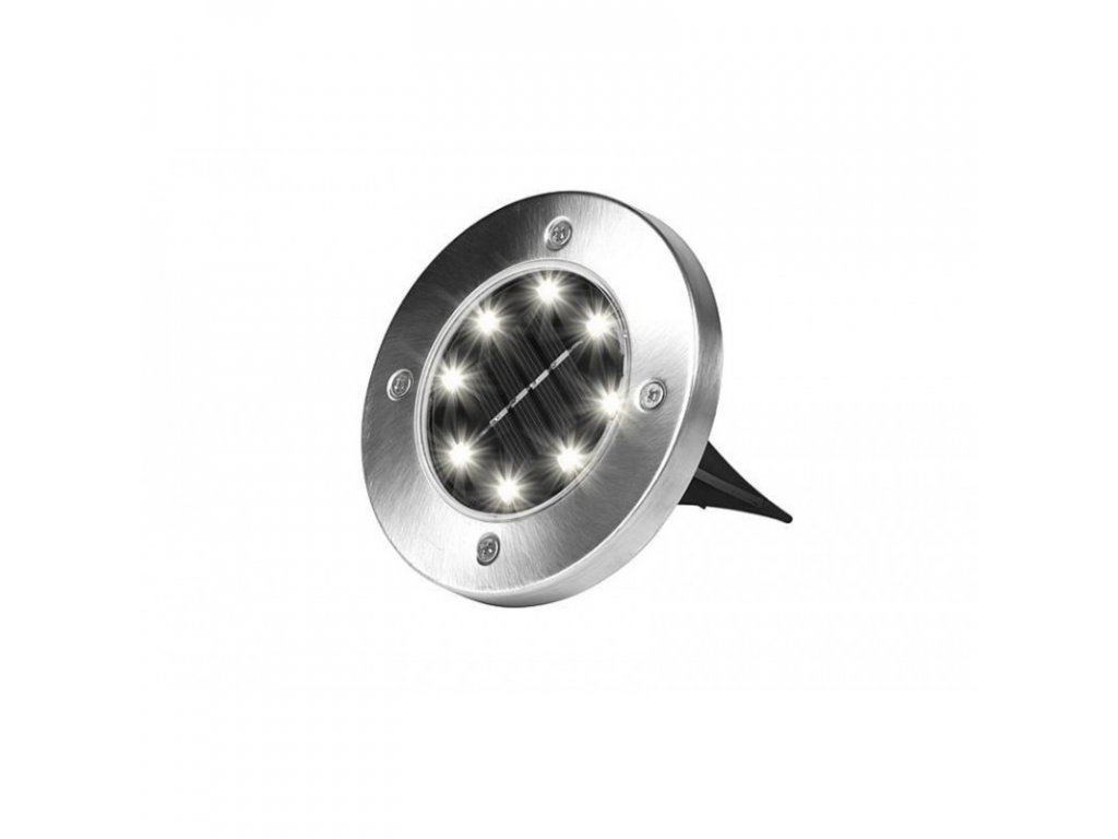 sada kruhovych solarnich svetel disk lights