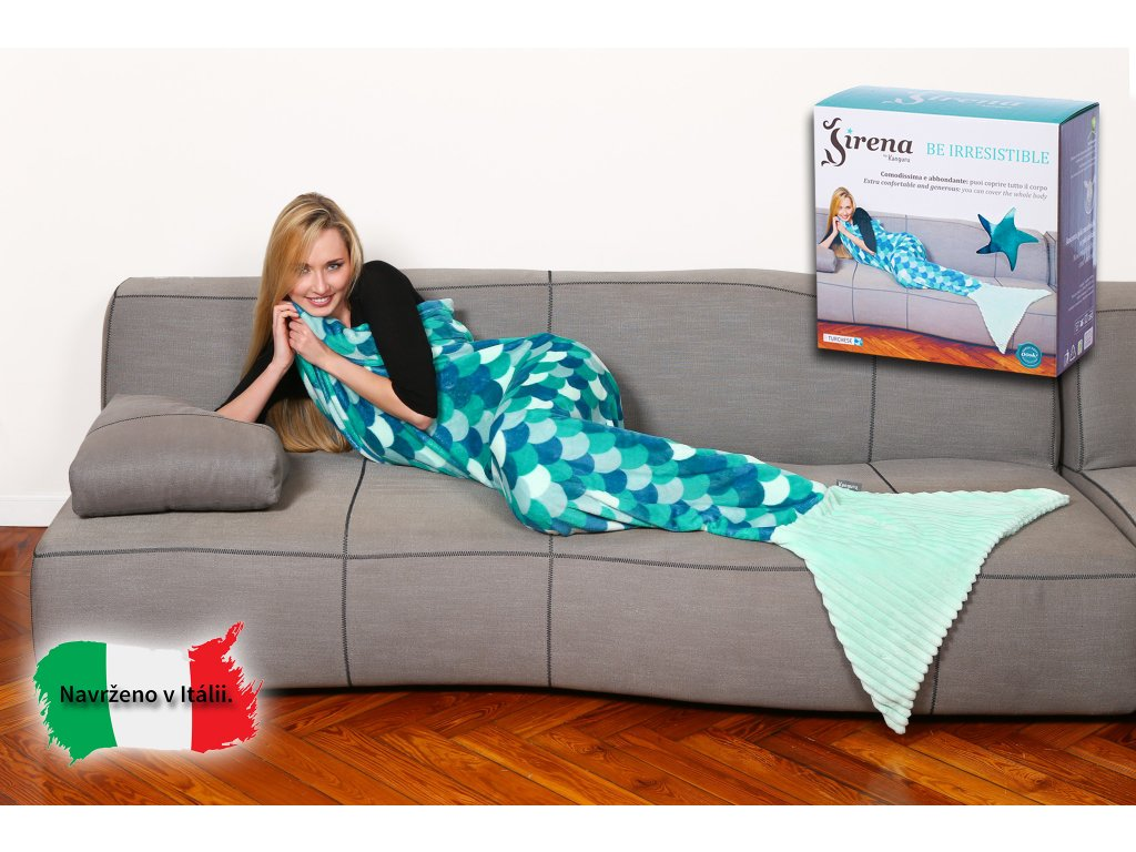 2250 6 deka morska panna damska modra