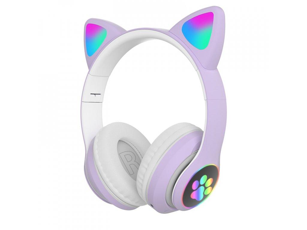 Vysoká qulity rgb cat ear sluchátka bluetooth 5 0