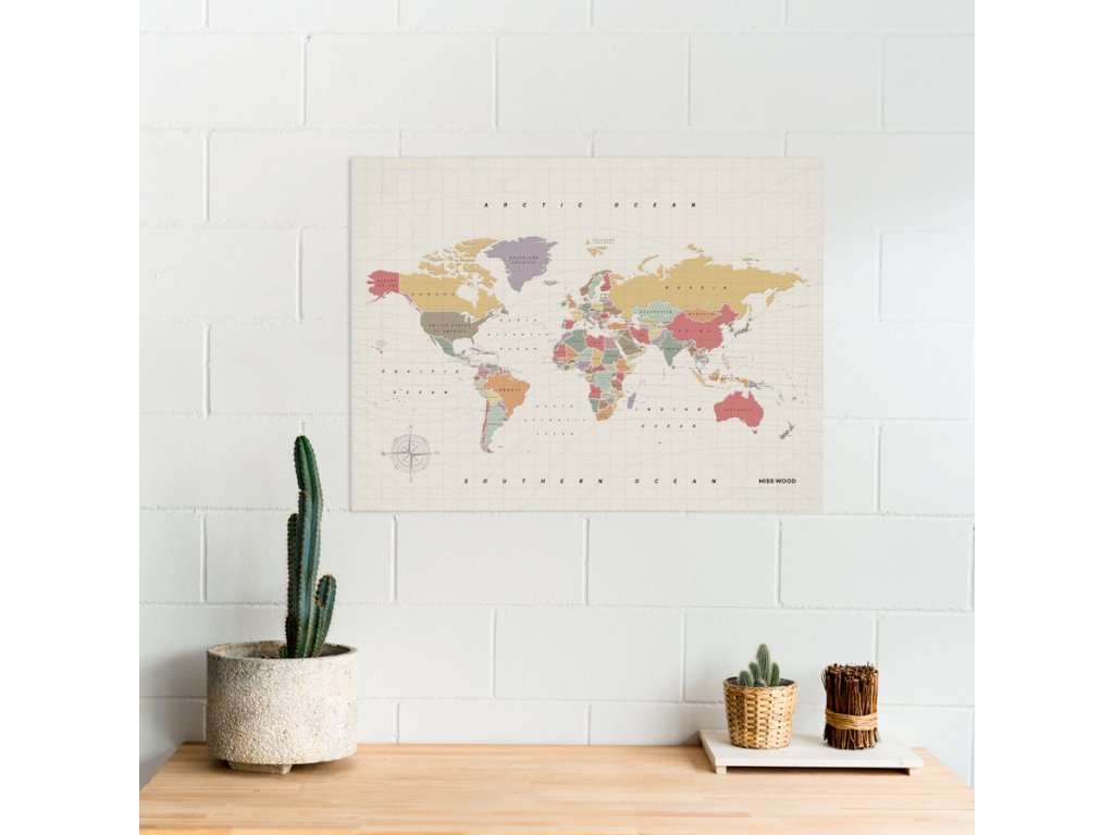 political worldmap map of the world watercolor tropical (7)