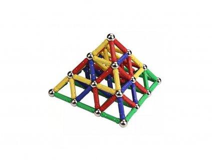 Magnetická stavebnice - 157 dílů