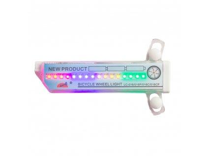 LED světlo do výpletu kola WORKER Spyralus