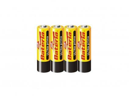 Alkalické baterie AA- 4 ks, Bateria