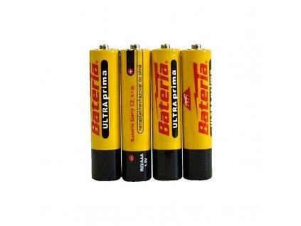 Alkalické baterie AAA- 4 ks, Bateria