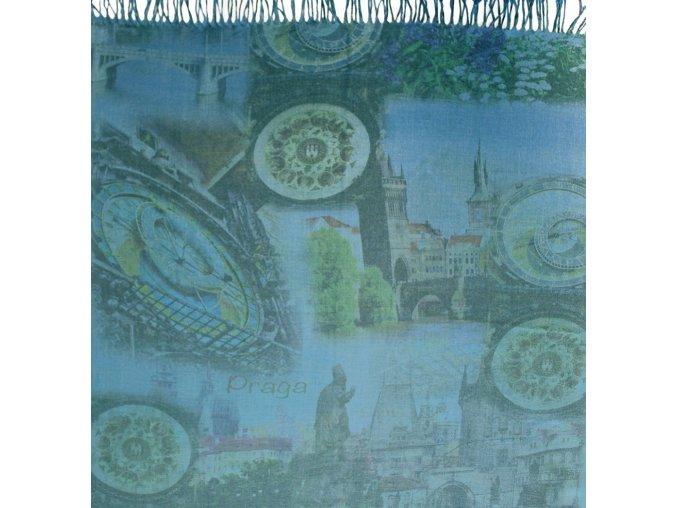 1450 pasminove saly s motivem praha modra letni boure