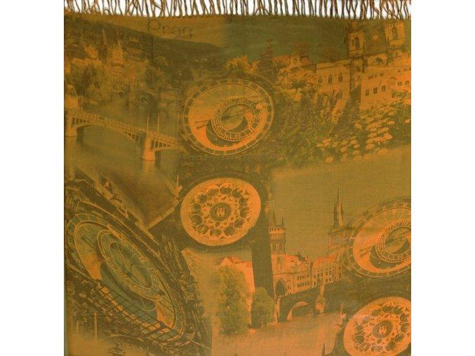 1486 pasminove saly s motivem praha tm zluta