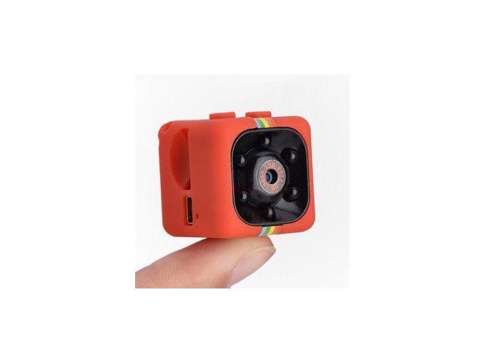 Mini HD kamera SQ11 - červená