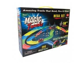 2196 1 svitici autodraha magic tracks mega box 360 ks 2 auticka