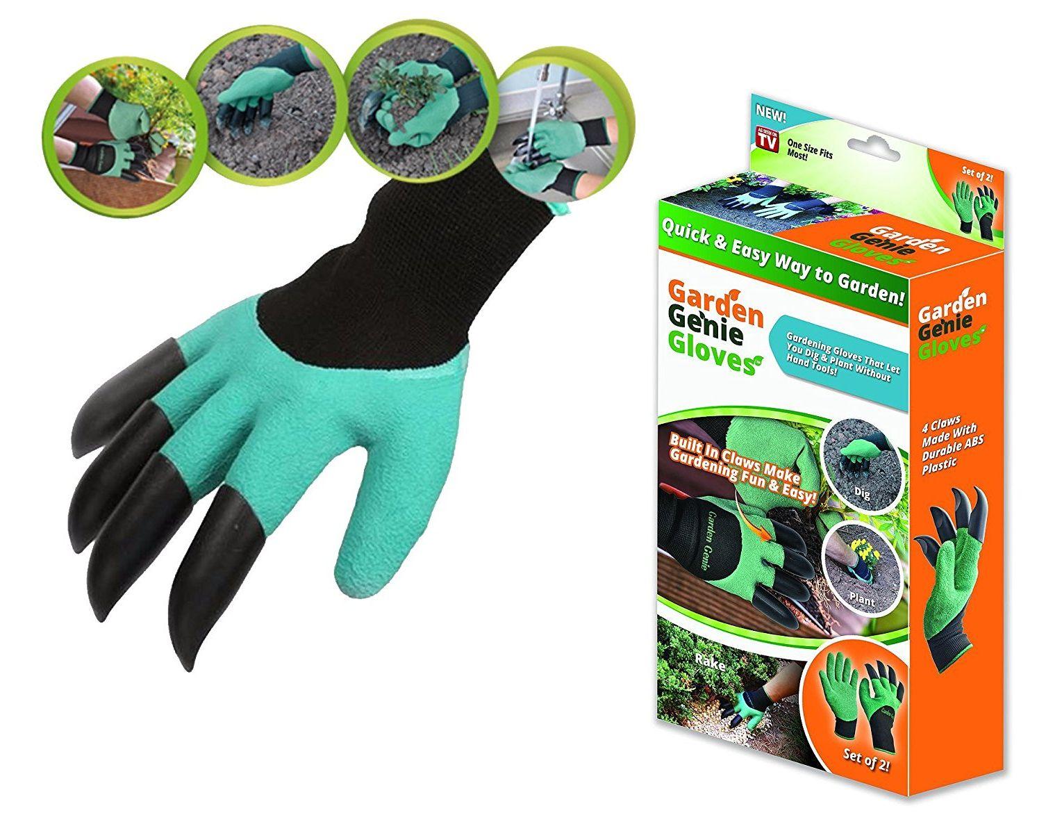 Garden Genie Zahradnické rukavice s drápy