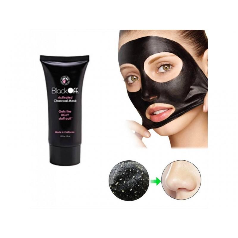 Slupovací pleťová maska - Black Off