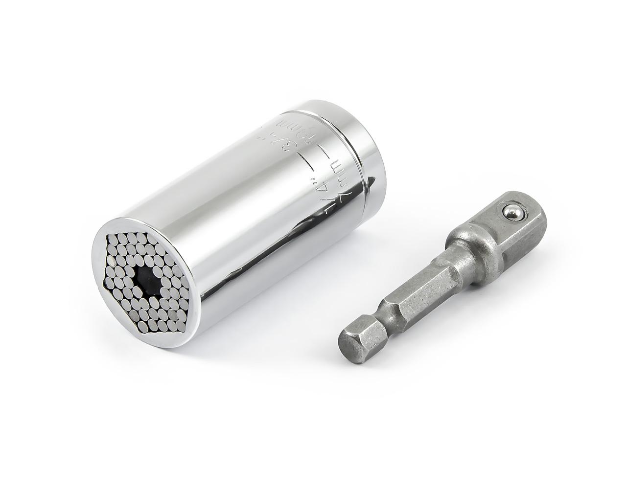 Univerzální nástavcový gola klíč 7 - 19mm