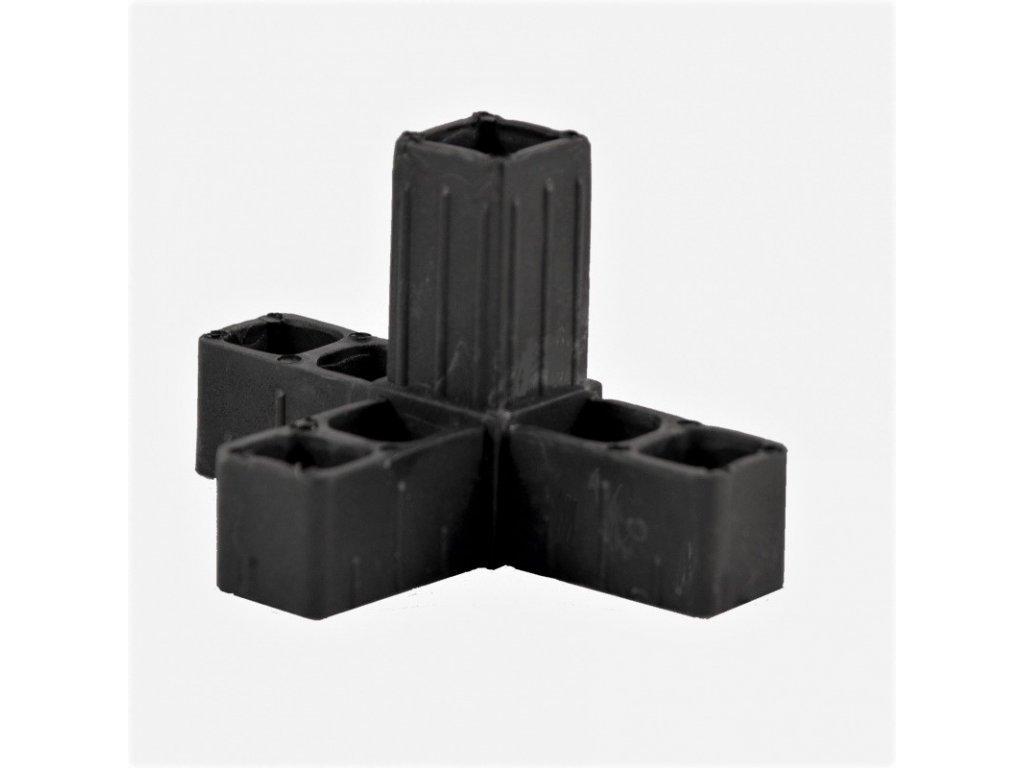 spojka 3+ čierna