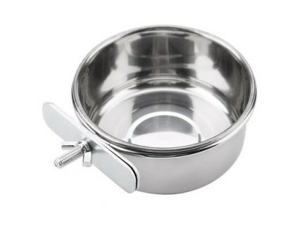 Pet Hanging Bowl Water Dish Cage Bowl Stainless 1