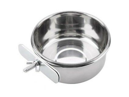 Pet Hanging Bowl Water Dish Cage Bowl Stainless 1