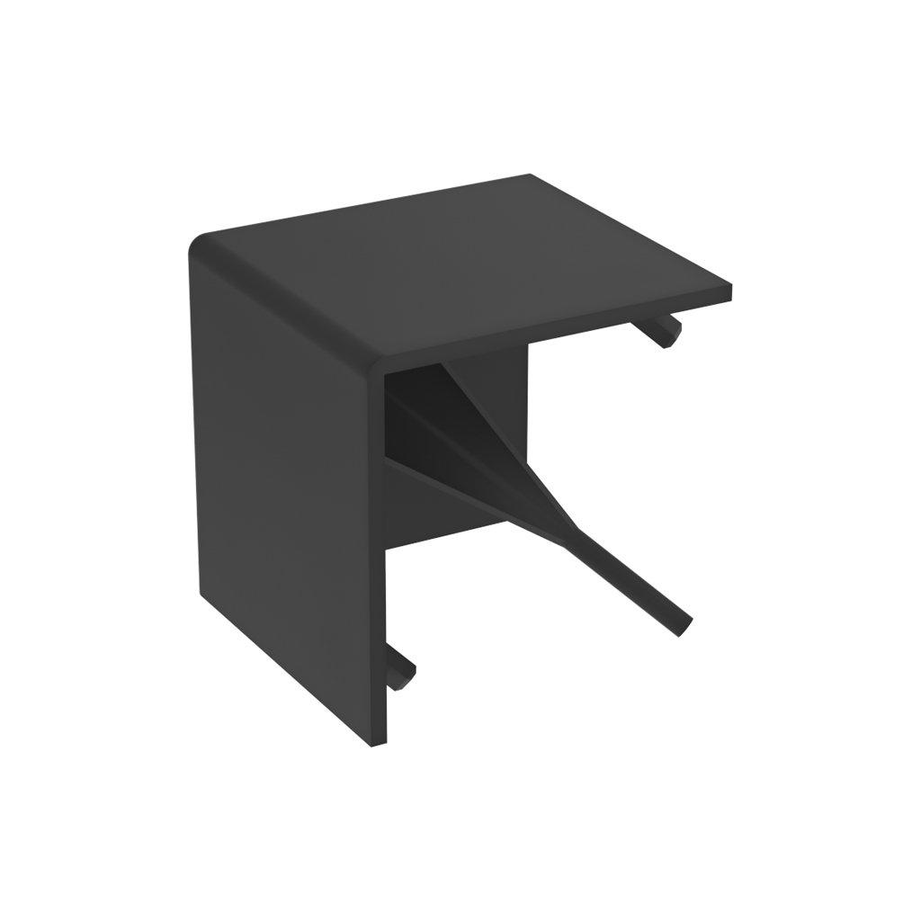 Hranatá krytka pro spojku 084.310.013, černá