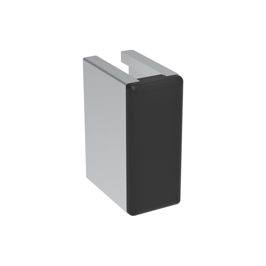 Záslepka profilu AC 30-6, 13x30, černá