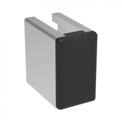 Záslepka profilu AC 30-6, 13x22,5 černá