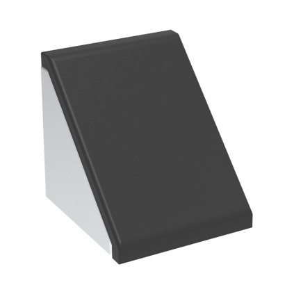 Krytka úhelníku 86x86, černá