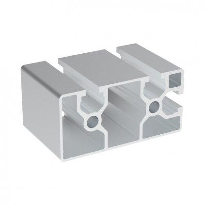Hliníkový profil AC 40-8, 40x80, se 3 drážkami