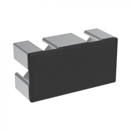 Záslepka profilu BH 30-8, 30x60, černá