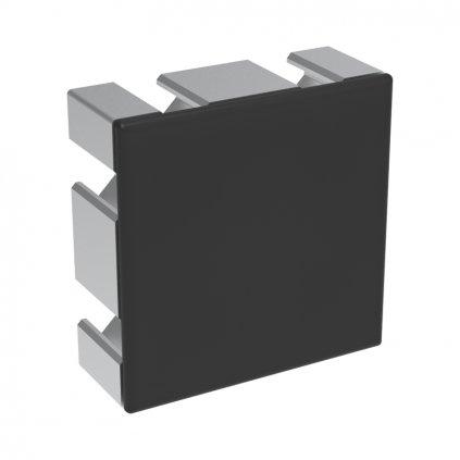 Záslepka profilu BH 30-8, 60x60, černá