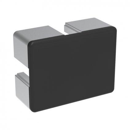 Záslepka profilu BH 45-10, 45x60, černá