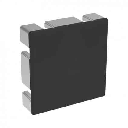 Záslepka profilu BH 45-10, 90x90, černá