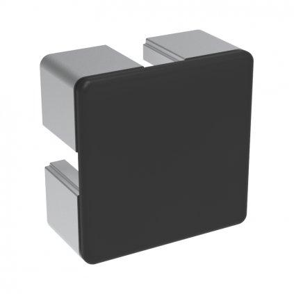 Záslepka profilu BH 50-10, 50x50, černá