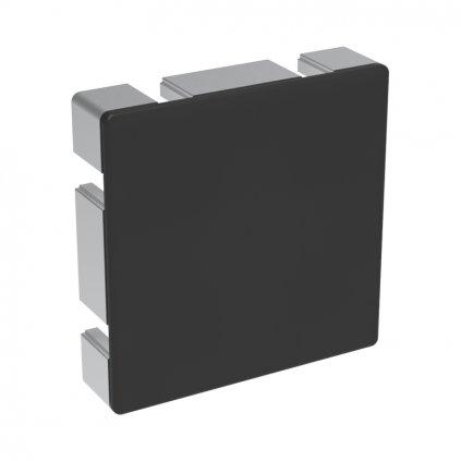 Záslepka profilu BH 50-10, 100x100, černá