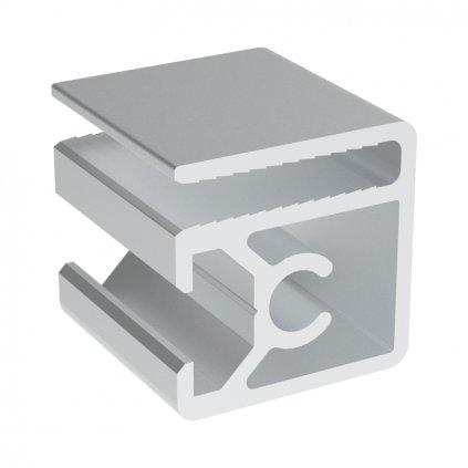 Hliníkový profil BH 30-8, 30x30, pro oplocení