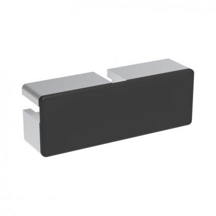 Záslepka profilu AC 45-8, 32x90, černá