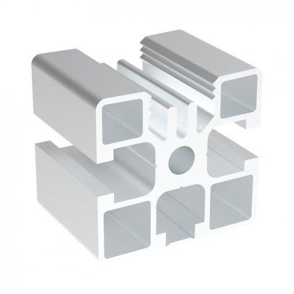 567 hlinikovy profil ac 45 8 45x45 pro panely