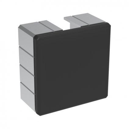 Záslepka profilu 50x50, černá
