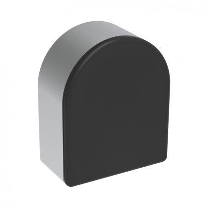 Záslepka profilu pro dvířka AC 45-8, 45x55, černá