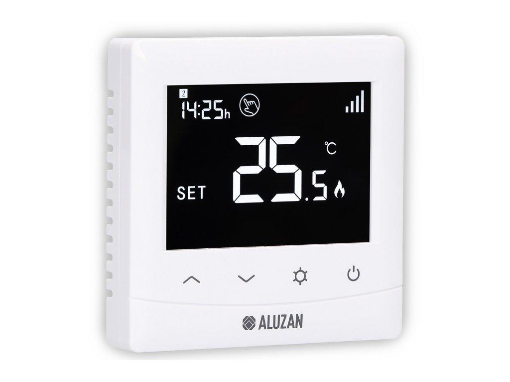 5x Aluzan EB-160 WiFi - programovatelný termostat pro ovládání kotlů i elektrického vytápění do 16A